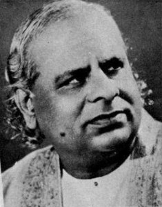 Omkarnath Thakur was among the more well known Hindustani classical vocalists from Gujarat.