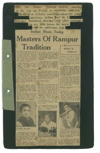 The original article as it appeared in The Bombay Sentinel