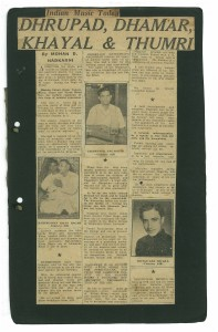 The original article as it appeared in The Bombay Sentinel.