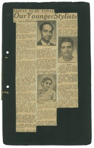 The article as it appeared in The Bombay Sentinel.