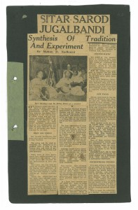 The article as it first appeared in the Bombay Sentinel in 1958.